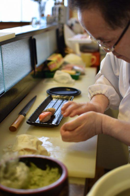 函館の寿司屋 弁天寿司